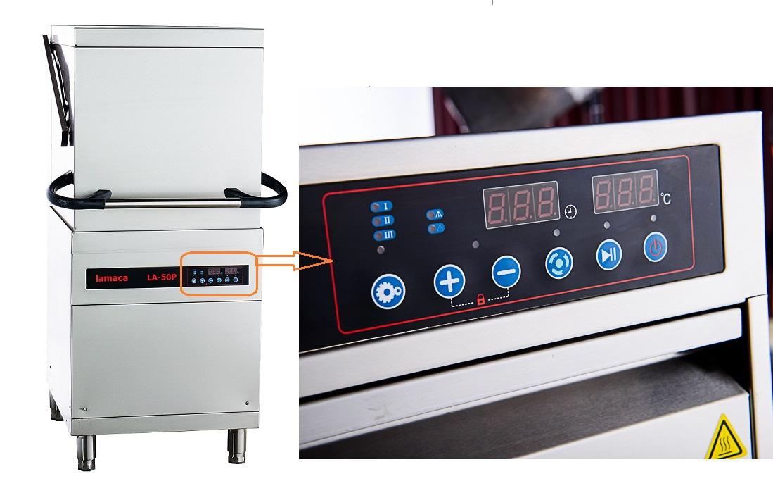 máy rửa bát công nghiệp la-50p lamaca