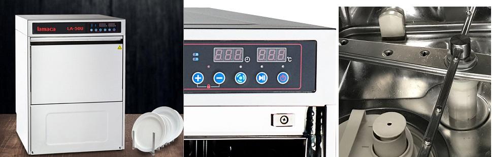 máy rửa ly LA-50U lamaca