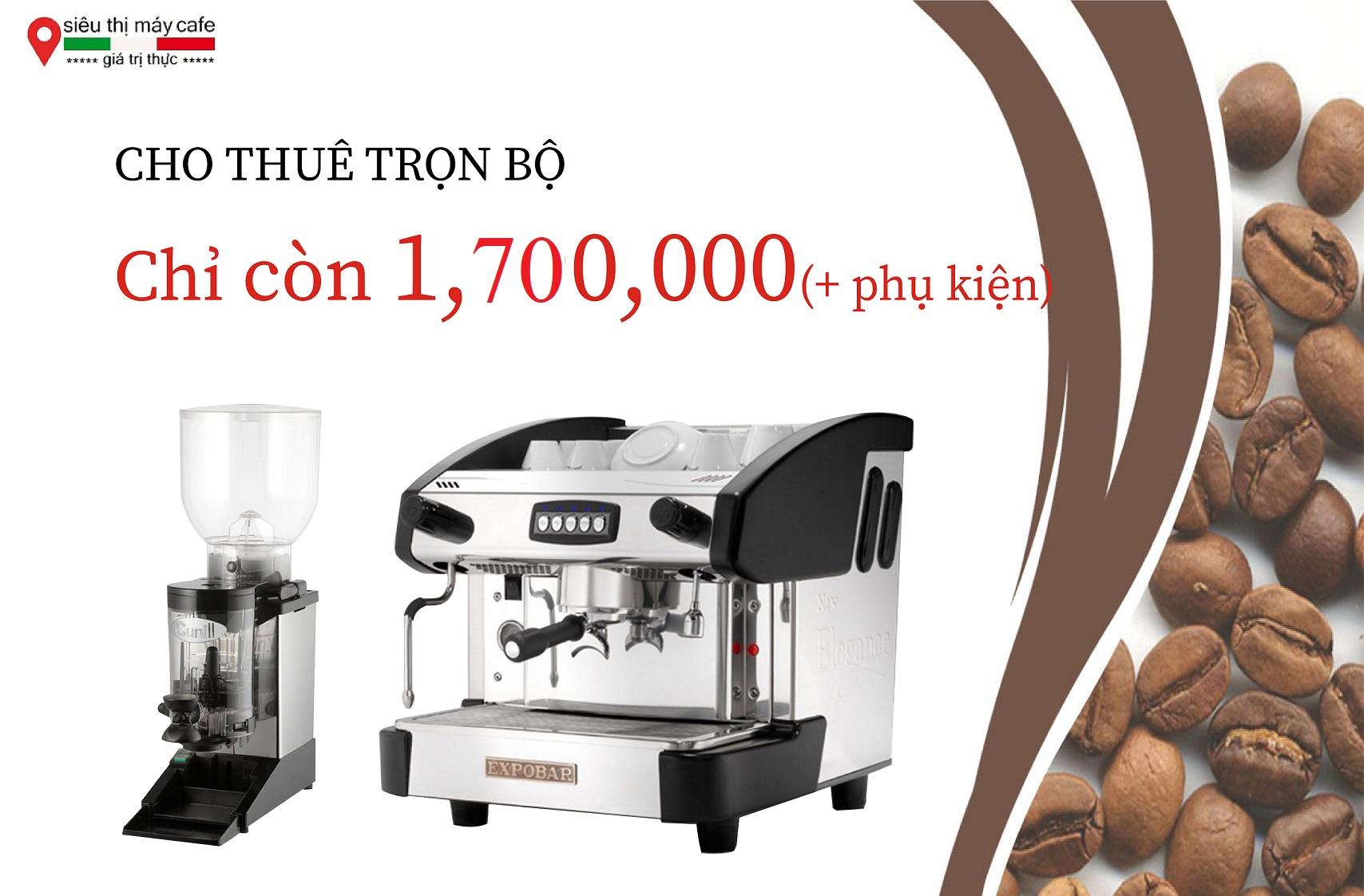máy cà phê cho thuê hà nội