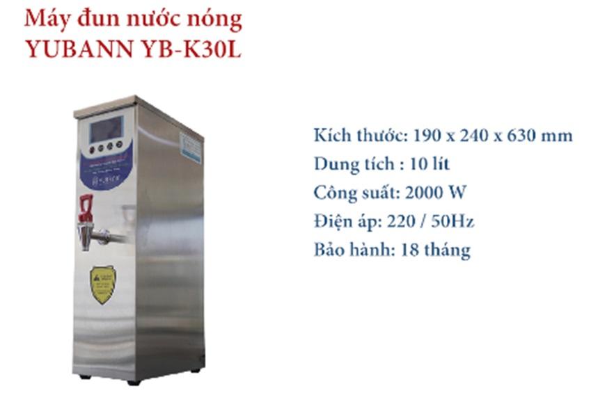 máy đun nước nóng quán trà sữa