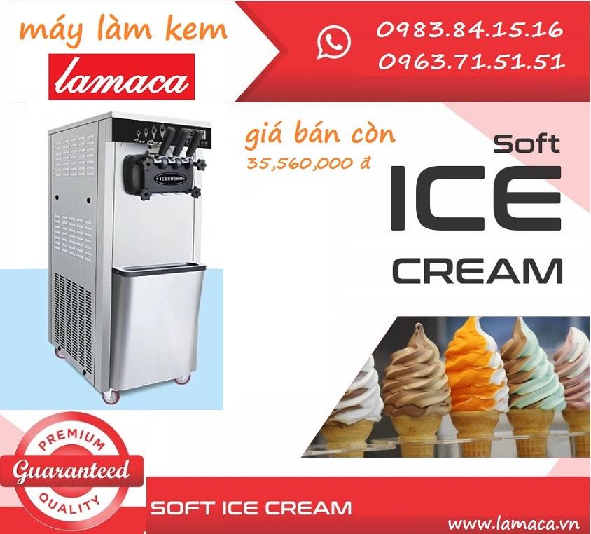 máy làm kem lamaca
