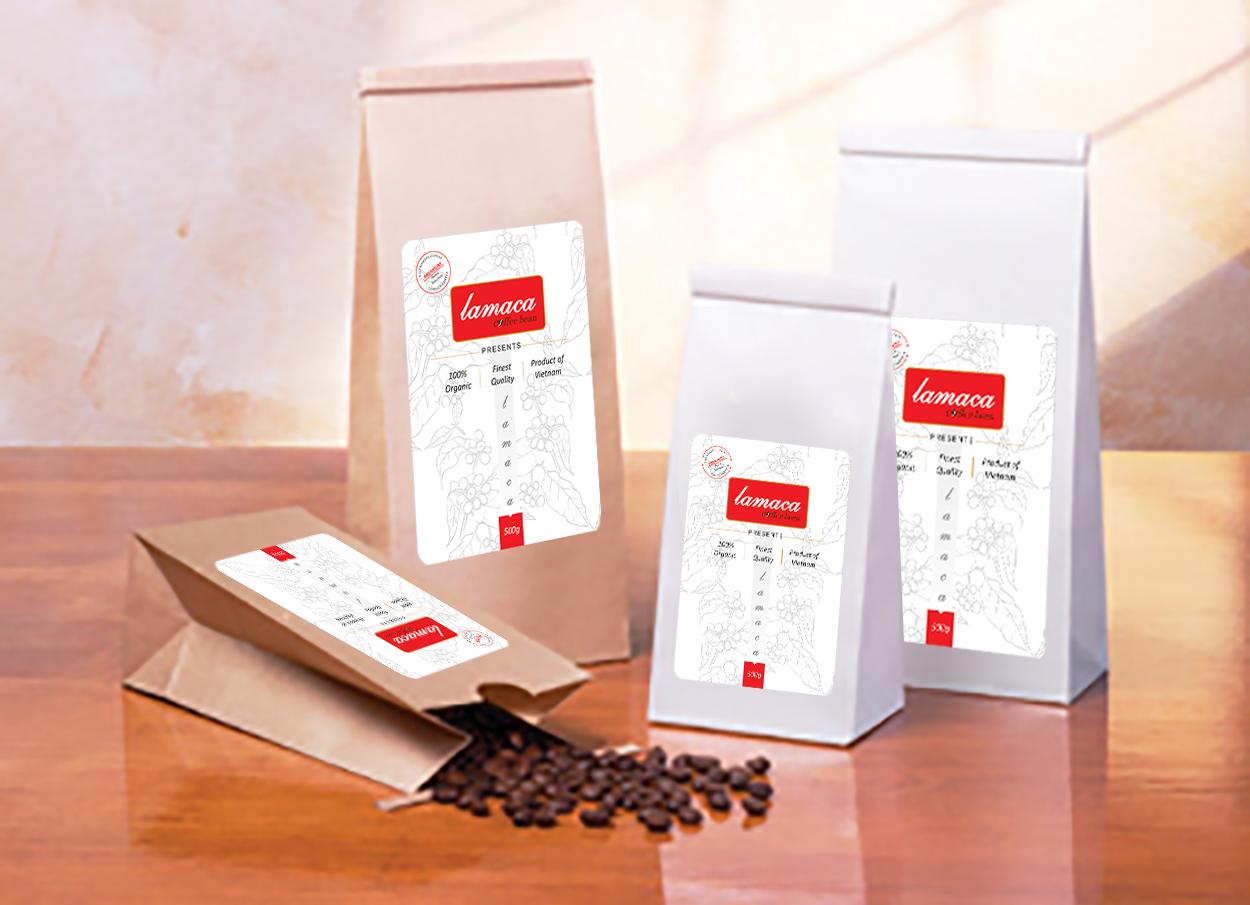 Cà phê hạt lamaca - MOKA Cầu Đất