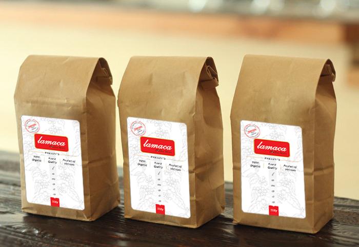 Cà phê Espresso lamaca - 100% Arabica