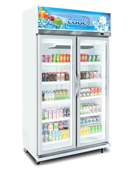 Tủ lạnh the cool 2 cánh kính, Alex 2P Jumbo