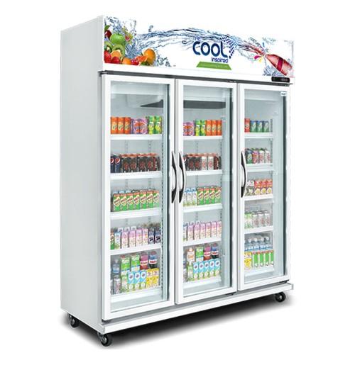 Tủ lạnh the cool 3 cánh kính, Alex 3P Jumbo
