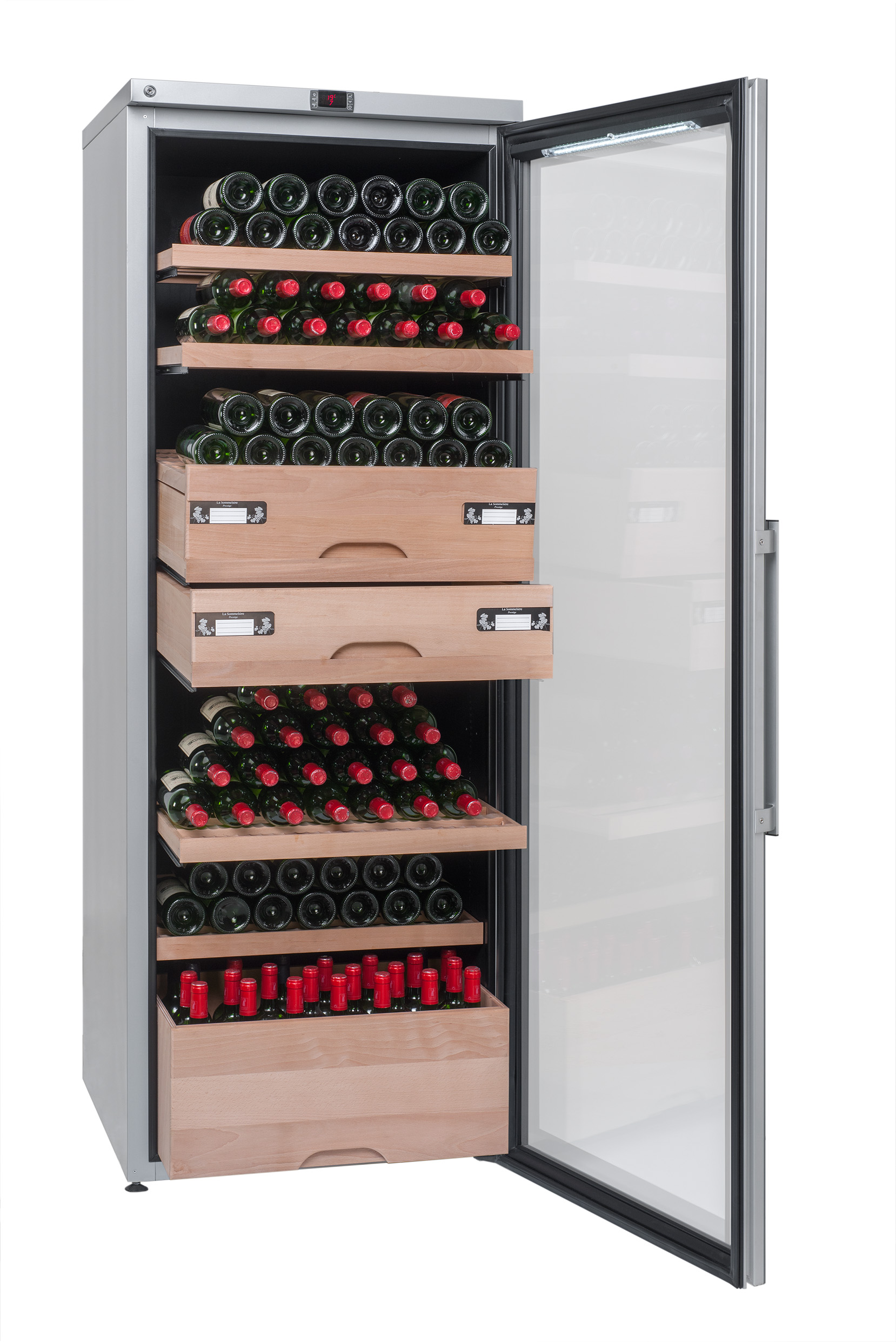 Tủ rượu vang La Sommeliere, VIP315V Serlim