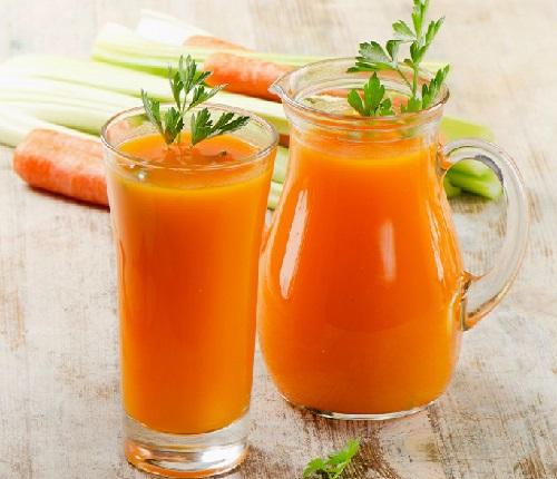 Cách làm nước ép cà rốt ngon