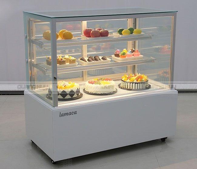 Tủ bánh sinh nhật kính vuông loại 1,2m