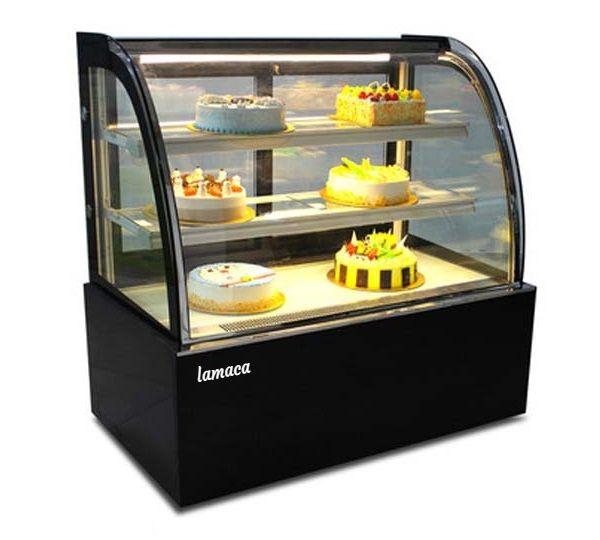 Tủ trưng bày bánh kính cong loại 1,2m