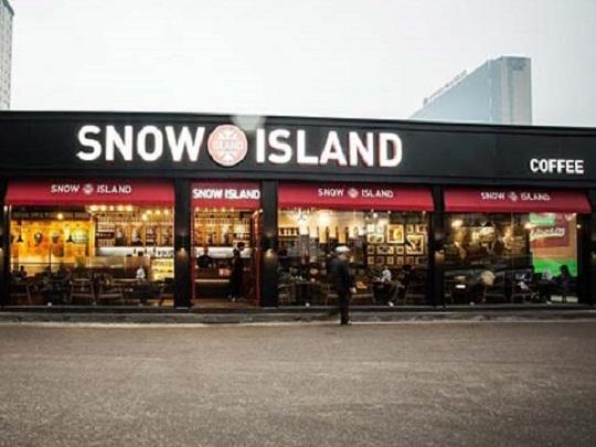 Nhượng quyền thương hiệu Cà phê Snow Island