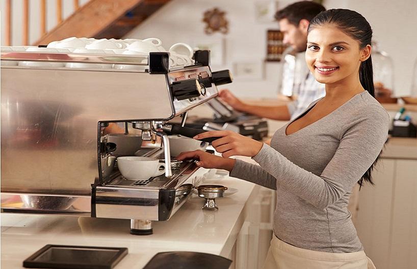 Học cà phê máy thành thạo