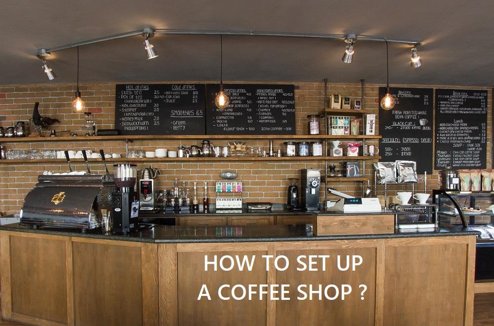 Set up quán Cà phê