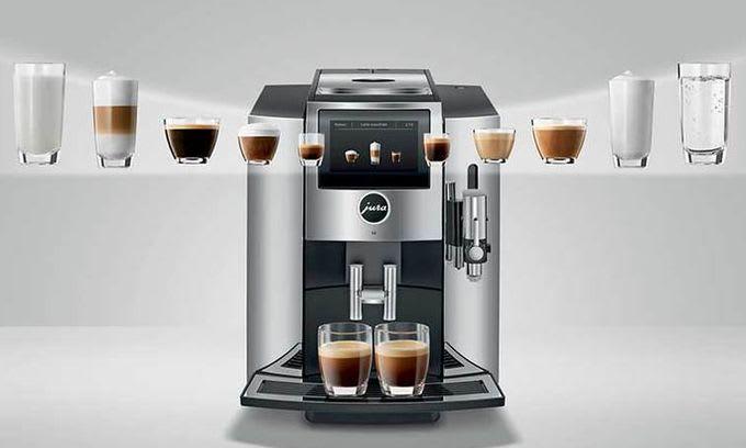 máy cà phê Jura E6 impressa